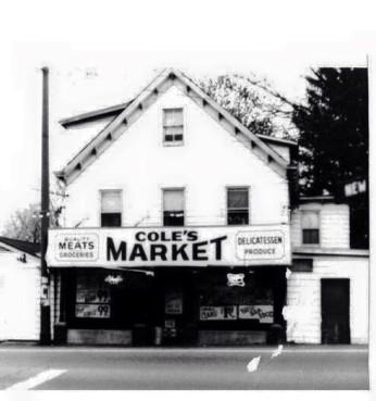 Coles Market 1970's